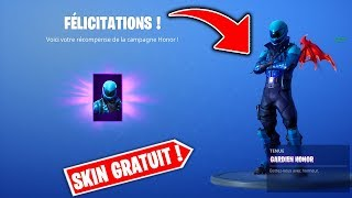 HOW TO UNLOCK THE SKIN -HONOR WITHOUT PAYER ON FORTNITE!