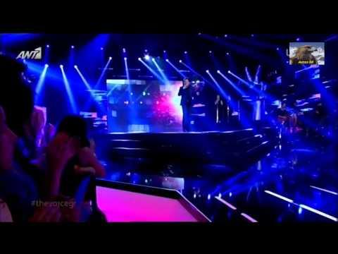 The Voice Of Greece 1ο Live Γιούρι Μελίκοβ (Let The Music Pl