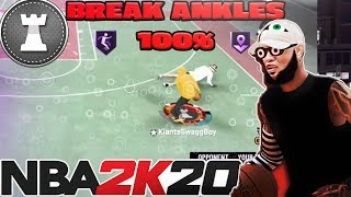 ANKLE BREAKER SPACE CREATOR -THE BEST PLAYMAKING BADGES SINCE PATCH 10 IN NBA 2K20 -BE LIKE STEEZO
