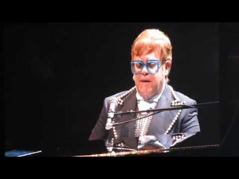 Elton John Philadelphia Freedom Live Boston 11-6-18