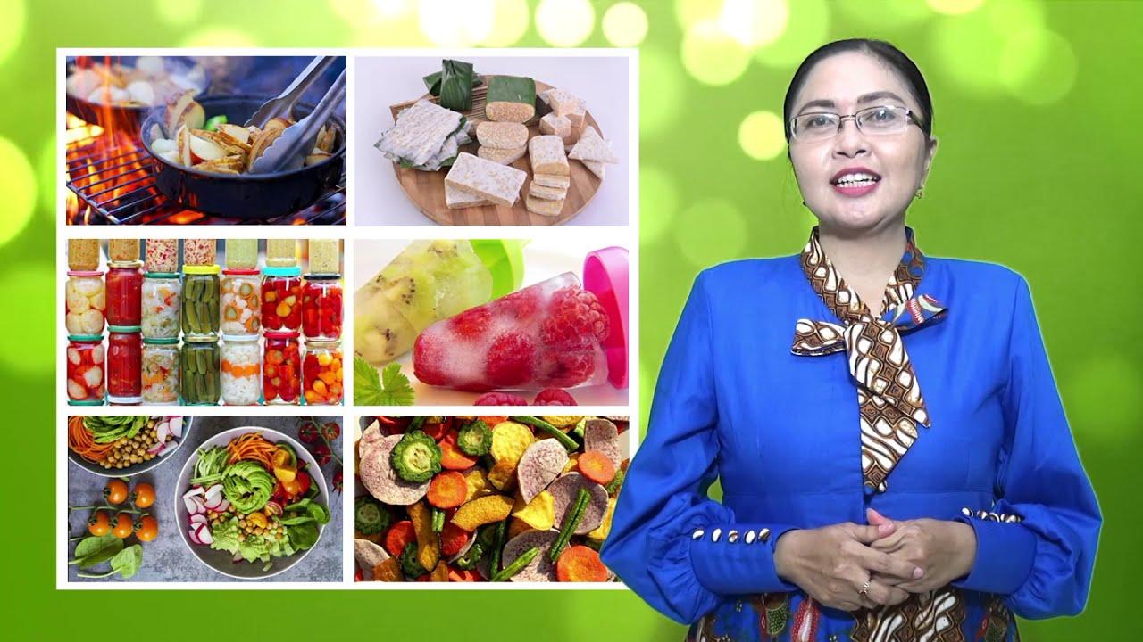 Pkwu Makanan Awetan Dari Bahan Nabati Youtube