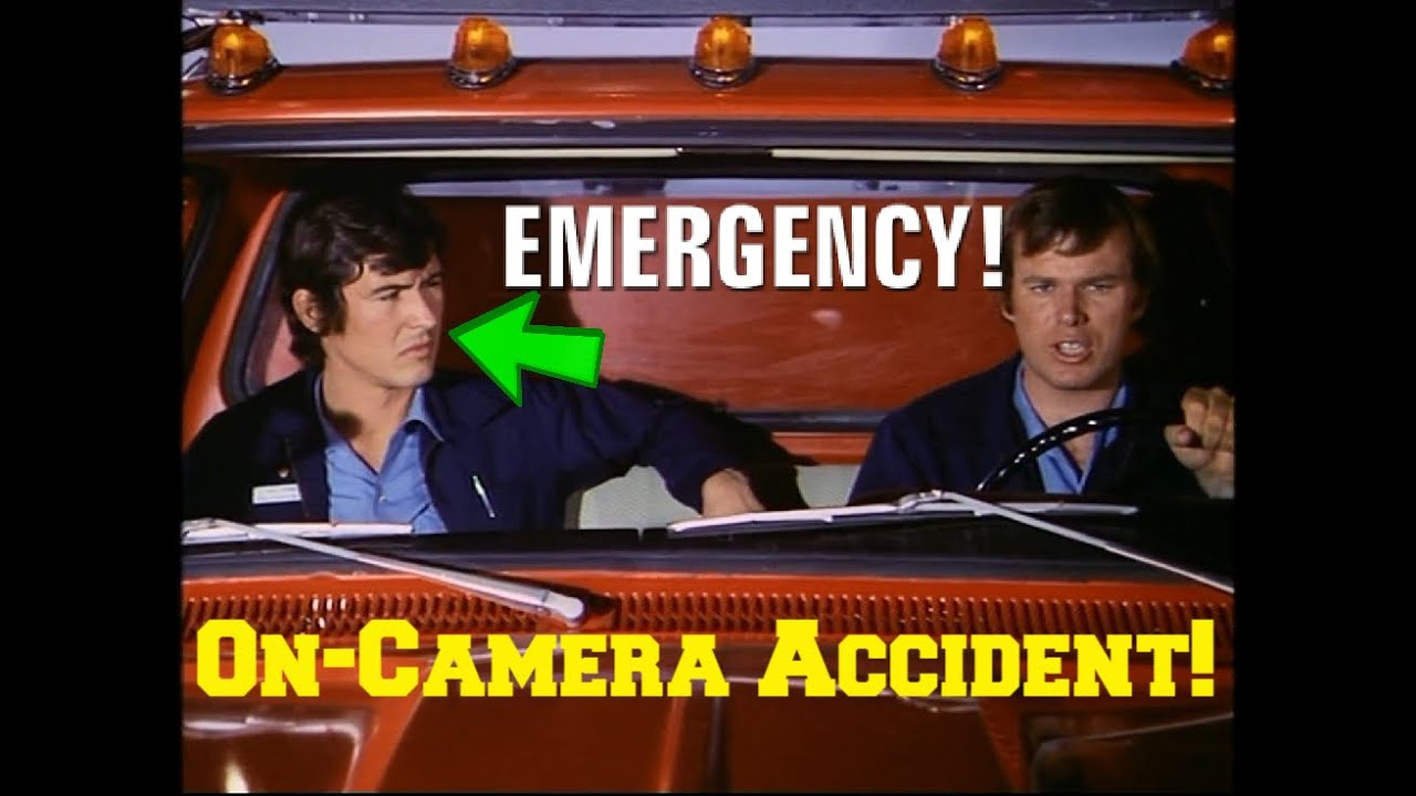"""Download John Gage's (Randy Mantooth) Accident on the Set of the 70's TV Show """"Emergency!"""""""