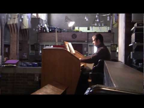 This is my body, broken for you - St Gabriel's Church, North Acton, London (Compton organ)
