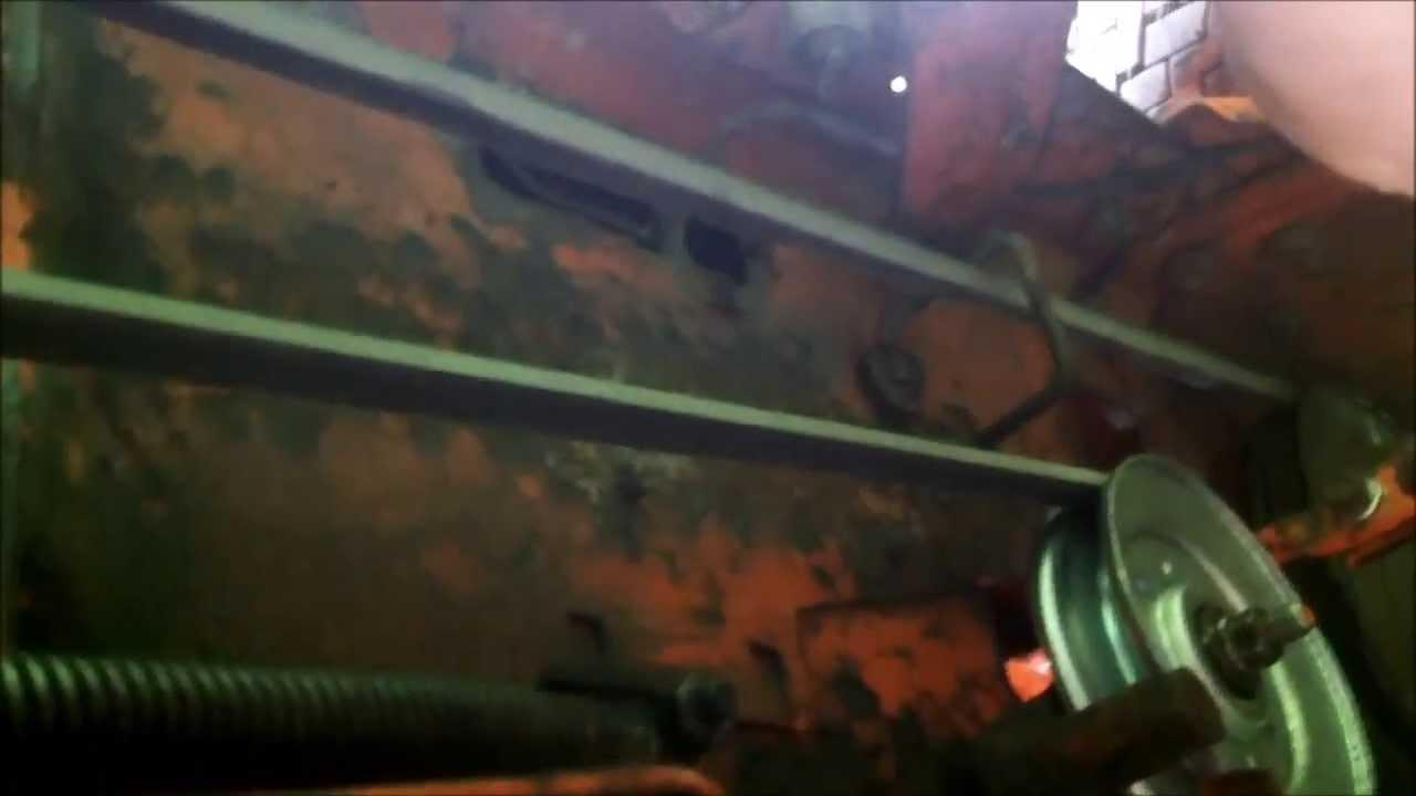 hight resolution of idel pulley works on simplicity 4211 belt needs adjustin