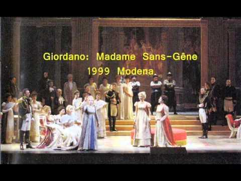 Giorgio Merighi - Giordano - Madame Sans-Gêne - Questa tua bocca... & Ah, non guardarmi...