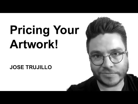 Pricing Artwork - Art Talk - Art Marketing Tuesday! Artist JOSE TRUJILLO
