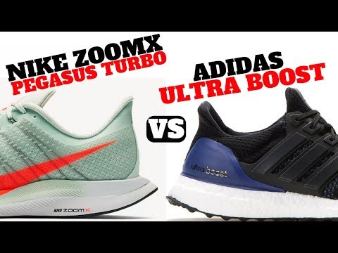 Nike ZOOMX PEGASUS TURBO vs. adidas ULTRA BOOST!!