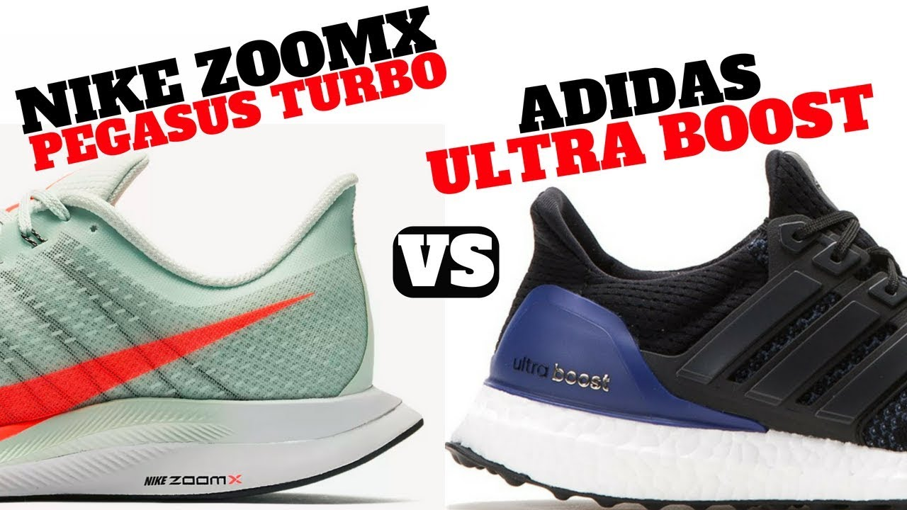 the best attitude 990b4 d29bd Nike ZOOMX PEGASUS TURBO vs. adidas ULTRA BOOST!!