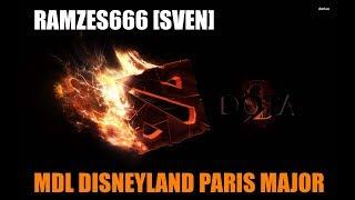 RAMZeS666 [Sven] | 7-0 K-D | MDL Disneyland Paris Major | Virtus.pro vs Gambit Esports