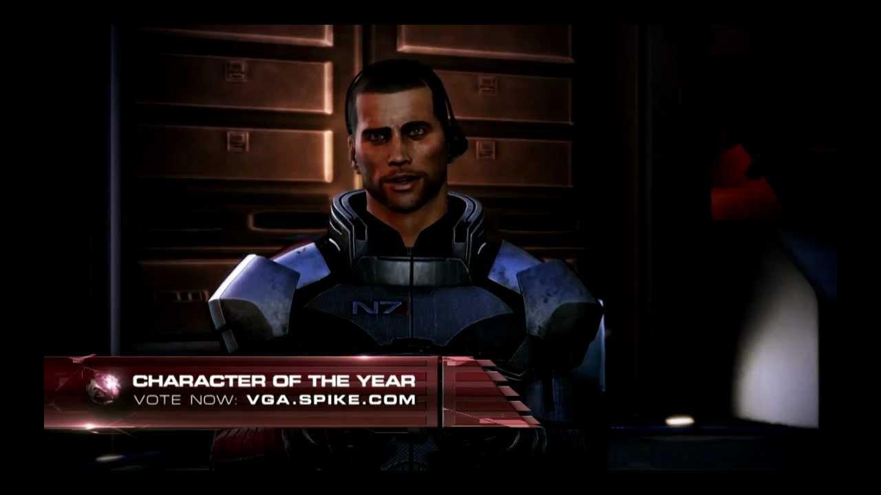 Mass Effect At Vga 2012 Garrus Jane And John Shepard Playing At Multiplayer