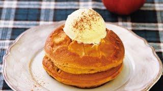 1月25日のレシピは「りんごのキャラメルホットケーキ」です。 レシピは...
