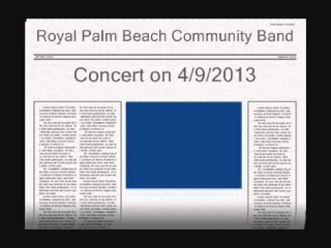 Royal Palm Beach 492013 Concert