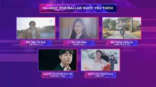 Top 5 Giải Thưởng Theo Thể Loại Nhạc - Zing Music Awards 2017