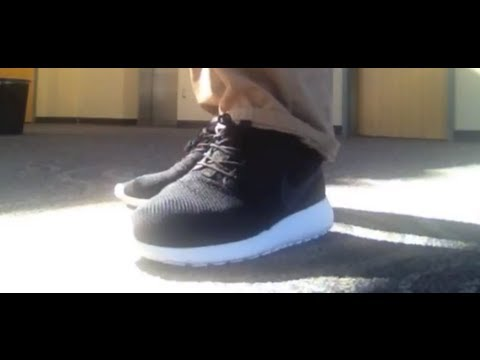 9bf11c90f926b Anthracite Roshe Run On Feet Review and Quality Discussion - YouTube
