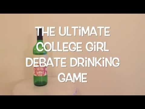The Ultimate College Girls Presidential Drinking Game