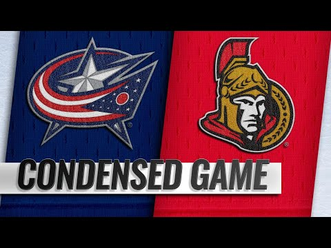 02/22/19 Condensed Game: Blue Jackets @ Senators
