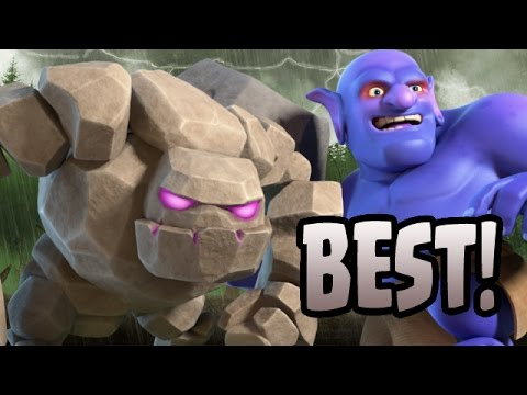 Clash Of Clans: TH10 FARM TO MAX STONED GOBO