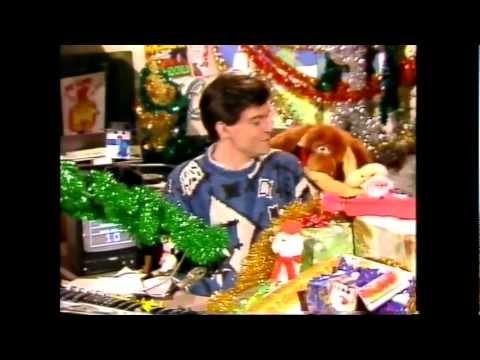 Children's BBC - December 1986 broom cupboard with Philip Schofield and Gordon