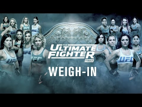 The Ultimate Fighter 26 Finale: Official Weigh-in Results and Video Stream