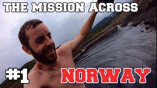 I attempted to cross NORWAY in a completely straight line. (PART 1)