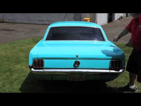 """1965 FORD MUSTANG COUPE   """"  SOLD  """"   Drager's International Classic Sales  206-533-9600"""