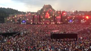 Hardwell Live - Tomorrowland 2013 - Biggest Sit Down Ever Best View