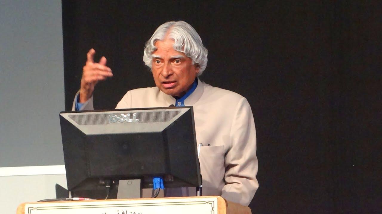 Speech in APJ Abdul Kalam Essay Sample