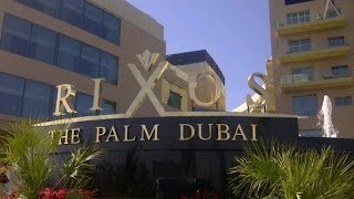 Обзор отеля Rixos The Palm Dubai 5 - семейный отдых в Арабских Эмиратах (туры в ОАЭ)(Недорогой отель на острове Пальм Джумейра (Дубай, ОАЭ) для семейного отдыха с детьми. Отзывы об отеле Rixos..., 2014-12-17T14:25:48.000Z)
