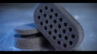 Diy two sided curl/twist sponge