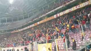 İmparator Fatih Terim Tezahüratı  Fatih Terim Galatasaray  Stad Yıkılıyor