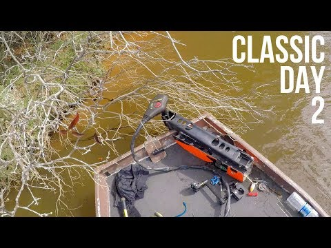 JON BOAT BASS FISHING FALL CLASSIC DAY 2 || The Fishing Disasters Continue