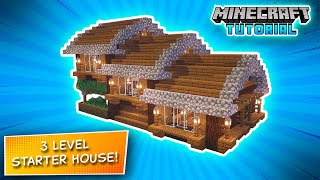 Minecraft | How to Build a Simple Survival House | Starter House Tutorial