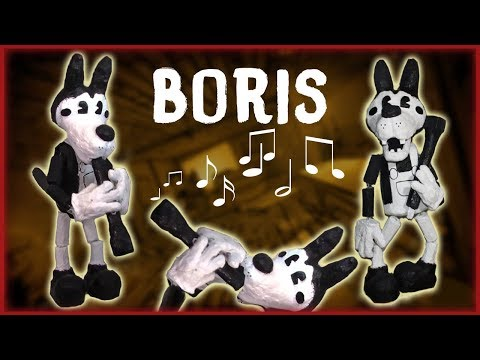 How to Make: Boris the Wolf Marionette! (with clarinet)