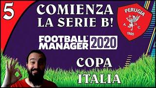 FOOTBALL MANAGER 2020 EP 5 PARTIDO POR COPA ITALIA y COMIENZA la SERIE B VAMOS CON TODO