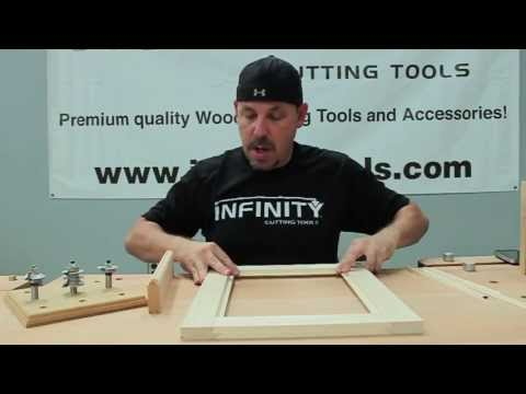 Infinity Cutting Tools Removable Bead Glass Door Router Bit Set ...