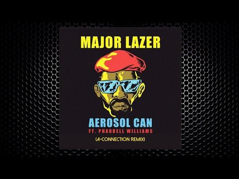 Major Lazer Ft Pharrell - Aerosol Can (A-Connection Remix)