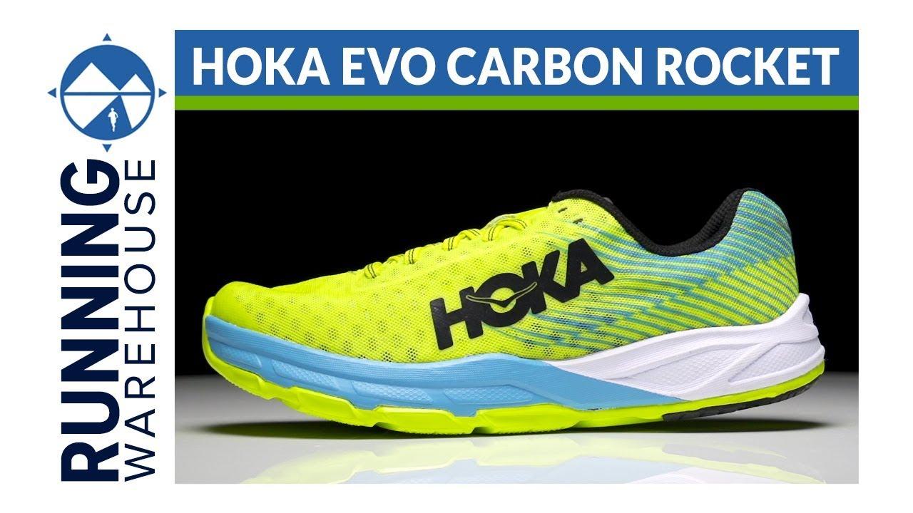 HOKA ONE ONE Evo Carbon Rocket First