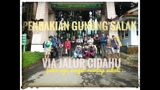 Pendakian GUNUNG SALAK 2211 MDPL via Cidahu, Tracking Ter-Extrim di Jawa