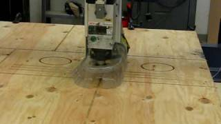 Shopbot Cutting Out Barn Owl Boxes