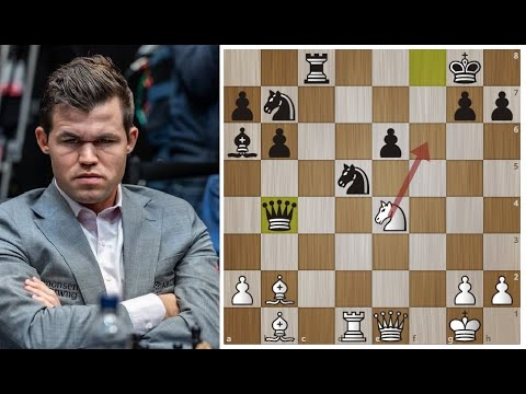 Магнуса Дуда вчера РАЗОЗЛИЛ - сегодня КАБАНИЙ удар ПОЛУЧИЛ! Шахматы. - Видео онлайн