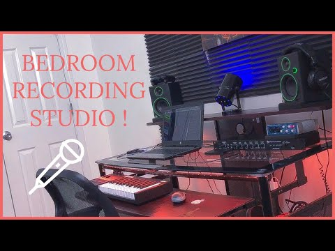 Bedroom / Home Recording Studio Tour | ROAD TO 200 SUBS !
