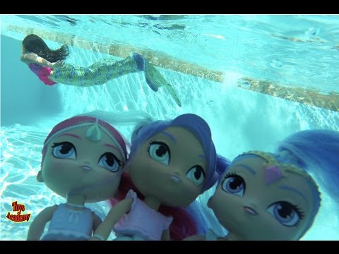 Thumbnail: Shimmer and Shine Magic Mermaids Bubble Blastin' Playdate with Nila | Toys Academy