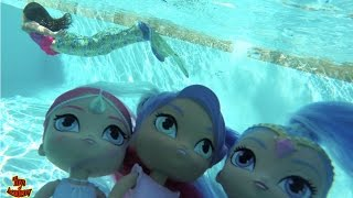 shimmer and shine toy surprise