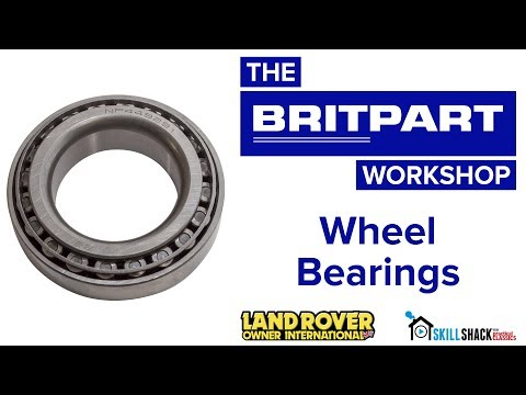 How to replace and correctly adjust Land Rover wheel bearings with a Britpart kit