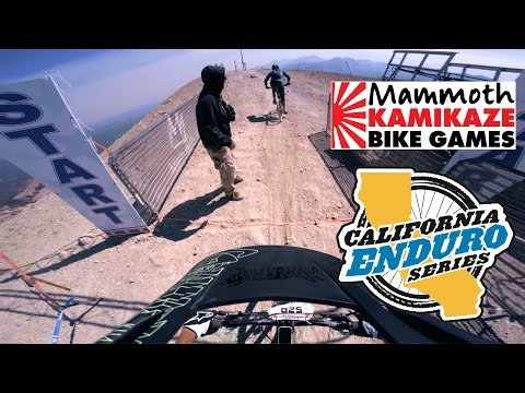 Enduro Race: Kamikaze Bike Games 2016 At Mammoth Mountain California