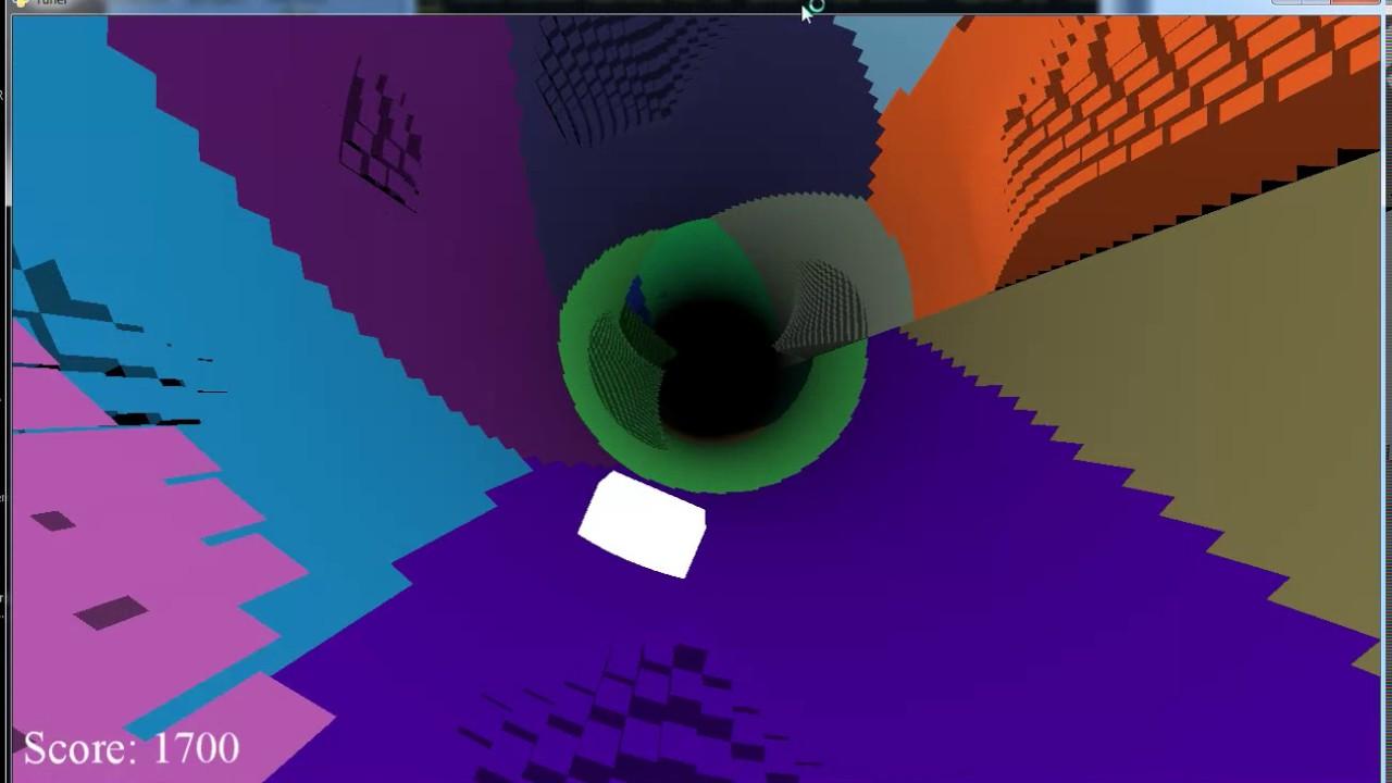 Tunel Python OpenGL demo