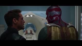 Тони Старк Узнает Что Баки Подставили  Первый Мститель Противостояние 2016