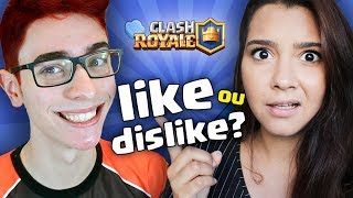 Video LIKE, DISLIKE OU GRAVA JUNTO? COM YOUTUBERS DE CLASH! FT. FLAKES POWER download MP3, 3GP, MP4, WEBM, AVI, FLV Agustus 2017