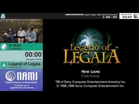 Legend Of Legaia (NG+) By Dr Skies (RPG Limit Break 2018 Part 15)