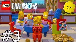 The Simpsons Çocuklar için Oyunlar Çizgi film Videoları - LEGO Boyutları 3 #
